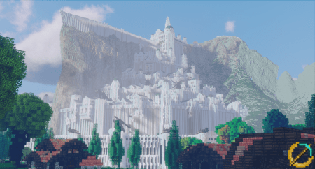 Obětovali deset let stavbou Středozemě v Minecraftu – pracuje na něm přes 300 lidí