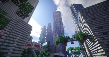 Night City ze Cyberpunku bude nově i v Minecraftu, zkopíruje i bugy?