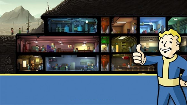 RECENZE: Fallout shelter, RAID a Lophis roguelike
