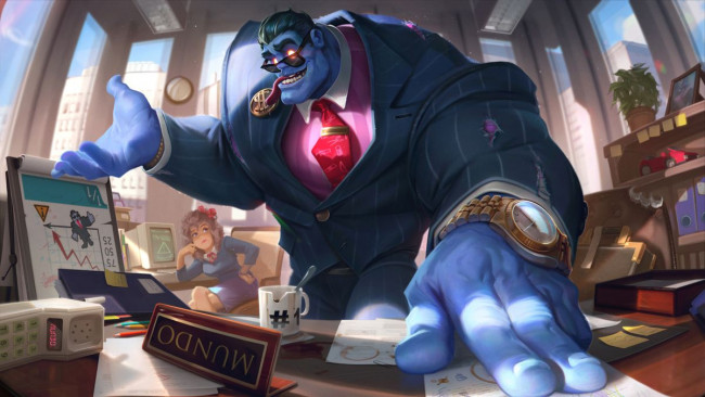 Nový Dr.Mundo z League of Legends se blíží